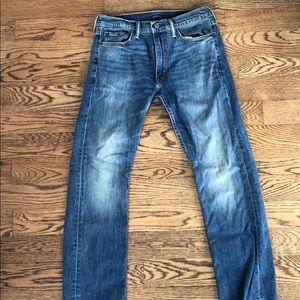 Men's Levi's 513 Blue Jeans. W: 32 L:30